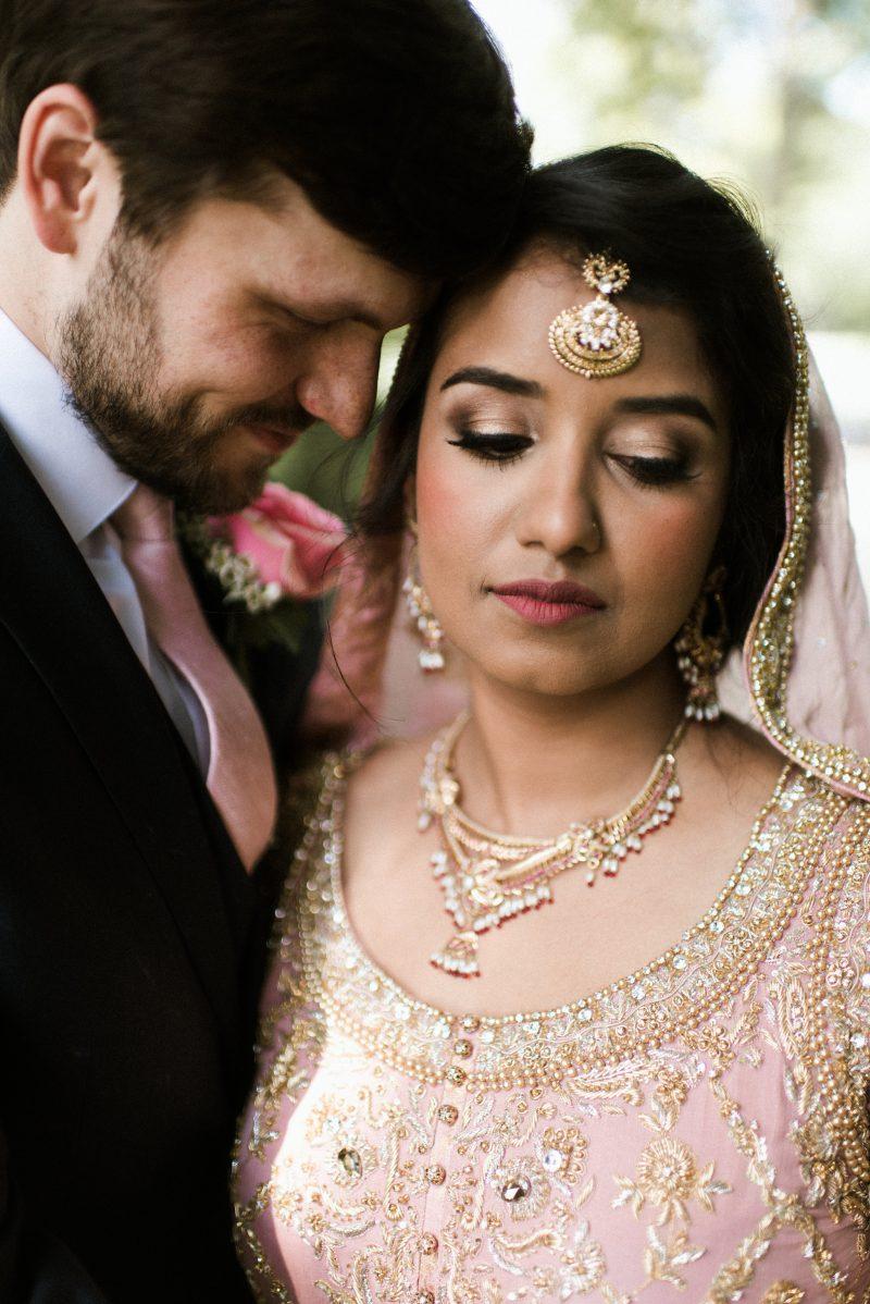 indian american fusion wedding